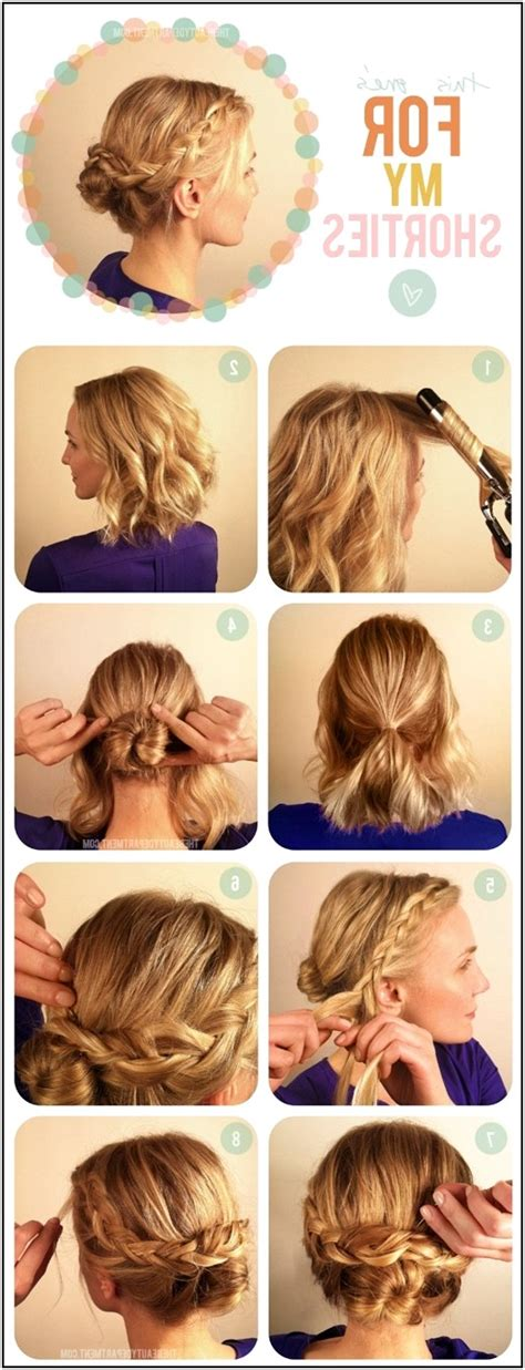 easy hairstyles short length hair straight hairstyle step by step medium hair ladies