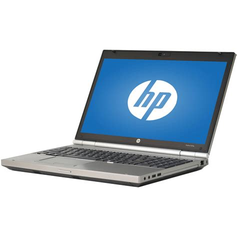Laptop I7 Hp refurbished hp silver 15 6 quot elitebook 8560p laptop pc with intel i7 2720qm