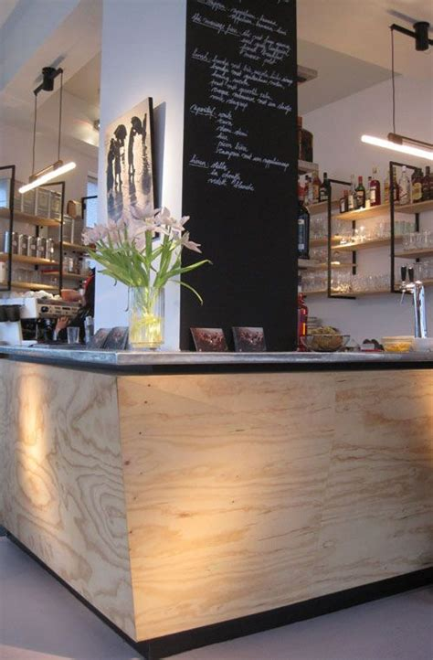 Plywood Bar Top by Another Plywood Style Bar Could Also Work With A Concrete