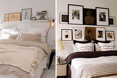 decorar tu cama decorar con estantes sobre la cama