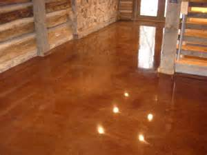 Basement Cork Flooring by Concrete Stain Nh Ma Me Acid Paint Contractor