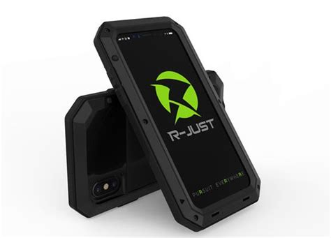 r just luxury armor dirt shock waterproof 3proof metal aluminum phone c for iphone x 5s se
