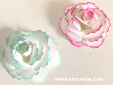 Make Your Own Paper Flowers - how to make your own paper flowers ddsts with diane