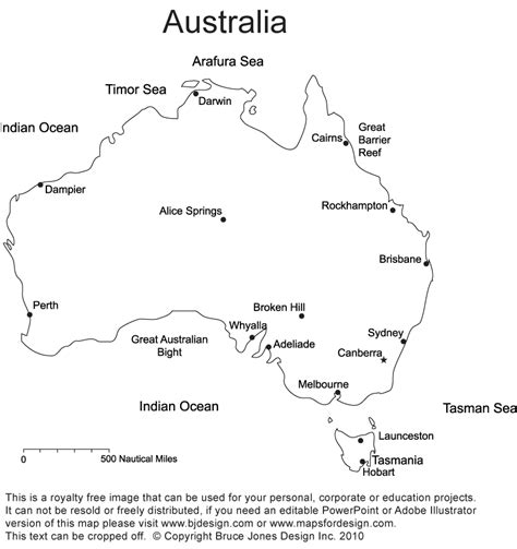 printable maps of australia oceania blank map pdf