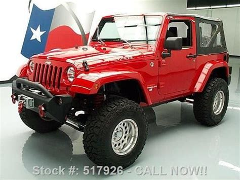 Moab Industries Jeep For Sale Find Used 2011 Jeep Wrangler Sport 4x4 Lifted Moab