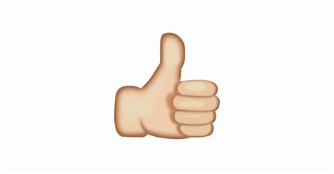 emoji thumbs up what s the meaning of a thumbs up emoji