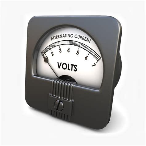 Voltmeter Ac Analog obj analog ac voltmeter