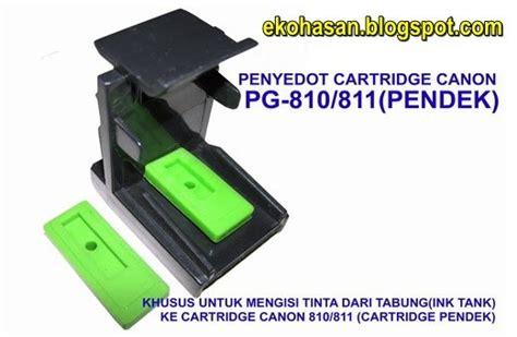 reset cartridge canon e400 toolkit penyedot catridge canon pg810 cl811 pendek