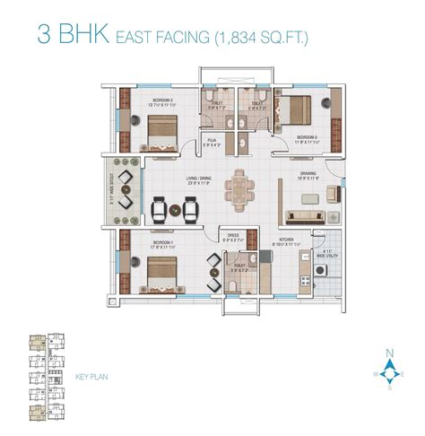 3bhk house plan 100 3bhk house plan lifestyle apartments for sale