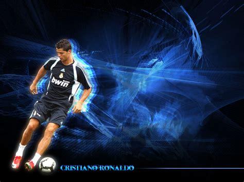 wallpaper cristiano ronaldo blue shadow bolanet