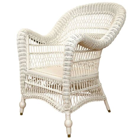 Antique Wicker Chairs by Antique Wicker Arm Chair At 1stdibs