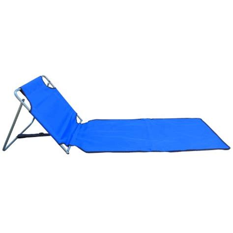 Folding Chair Mat by Blue Portable Folding Mat Chair