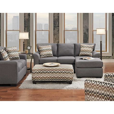 grey sofa with chaise ryleigh grey sofa with chaise d1 3903s affordable
