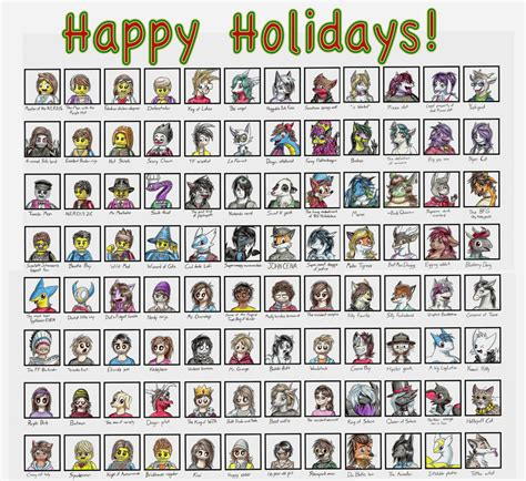 7 Reasons To Be Happy The Holidays Are by Happy Holidays 2016 By Roarythefygar On Deviantart