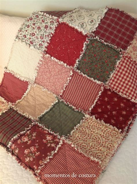 momentos de costura mi manta rag quilt quilting