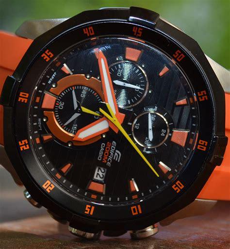 Casio Edifice Efm 502 edifice orange efm 502 1a4v