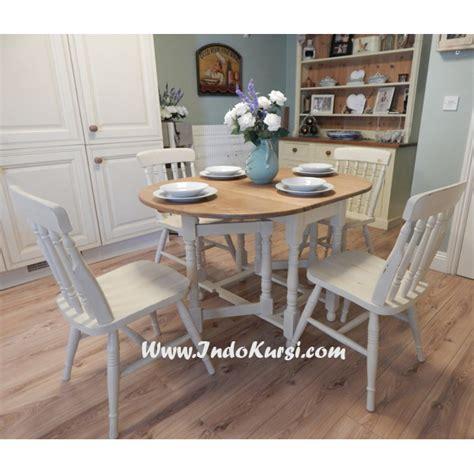 Kursi Meja Makan Duco Kursi Minimallis Kursi Tamu Sofa kursi makan jari jari cat putih duco indo kursi mebel