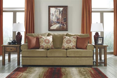 beige fabric sofa bed signature design by sevan sand 9680239 beige fabric