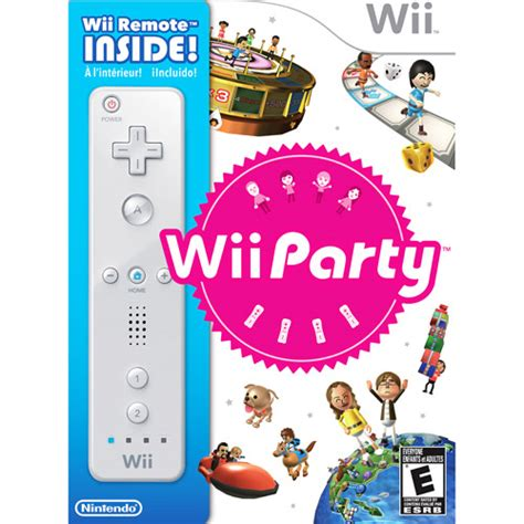 Wii Console At Walmart With 50 Gift Card - wii party with remote walmart com