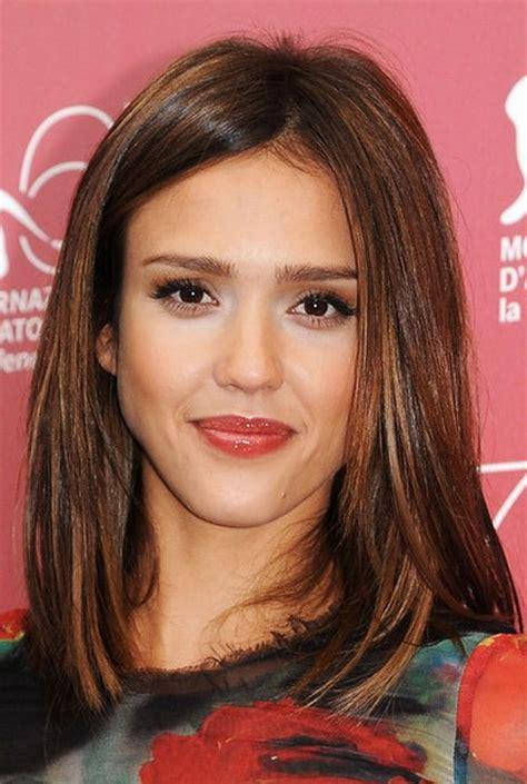 medium brunette hairstyles