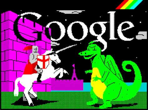 happy doodle 2012 st george s day the 30th anniversary of the zx spectrum