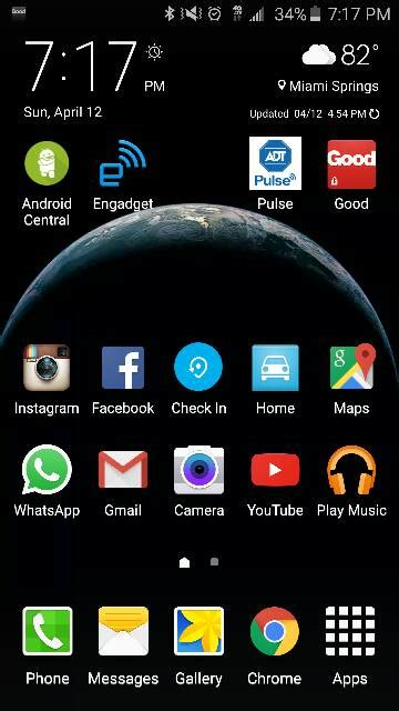 galaxy home screen galaxy s6 post pictures of your home screen s android