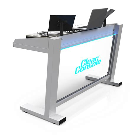 Dj Stand Table by X Dj Booth Clearconsole Dj Booths Dj Stands Modular