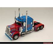 Optimus Prime In Lego  I Have Been Asked By Countless