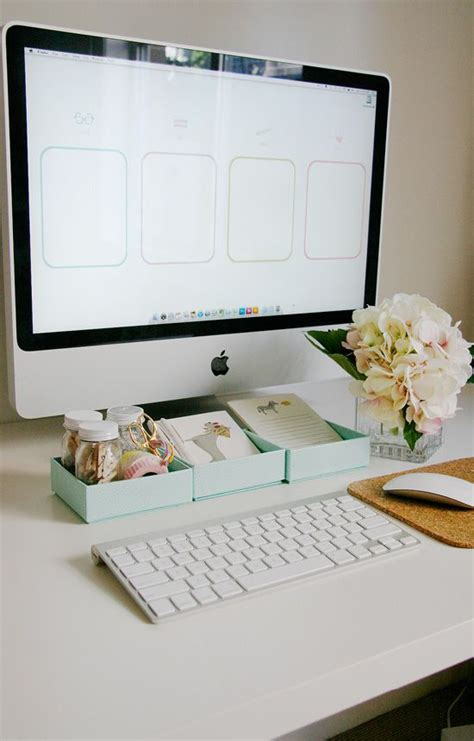 Best Way To Organize Desk 61 Best Images About Desktop Organizers On Pinterest Makeup And Desktop Icons And
