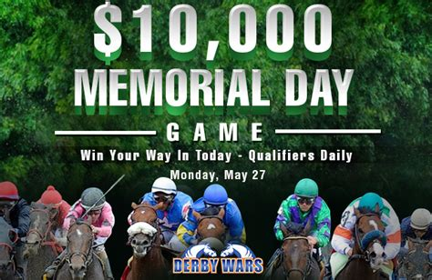 Win Something Different Every Day Before Memorial Day by 10k Memorial Day Racing Nation