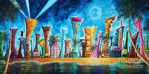 paint nite miami miami city south original painting tropical