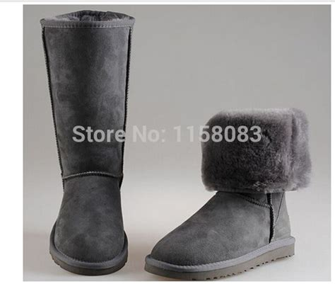 aliexpress bca snow boots women s real leather ugg on aliexpress com
