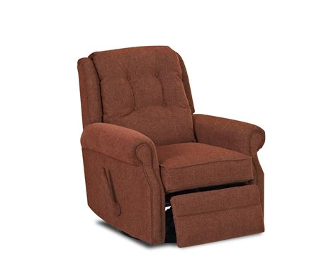 gliding recliner chair transitional manual gliding reclining chair with button