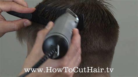 how to blend a fade haircut clipper comb scissor