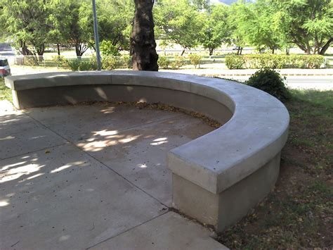 concrete patio bench outdoor concrete benches treenovation