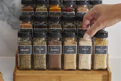 spice jar labels design  pretty pantry labels