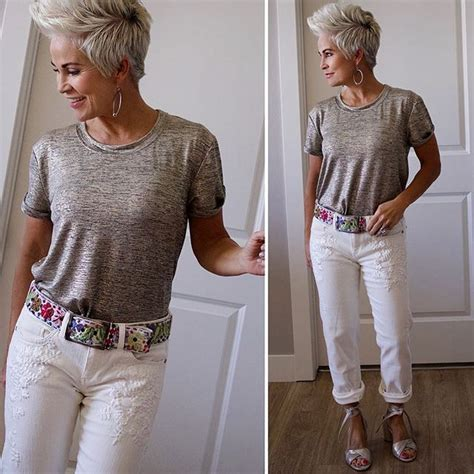 can older women wear barrets my style style has no age pinterest cheveux courts