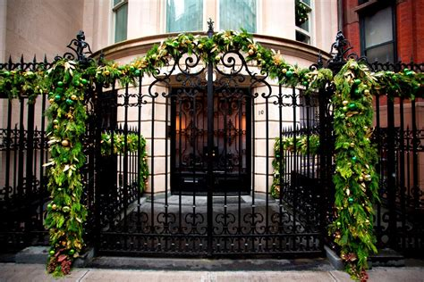 Startling Wrought Iron Gate <a  href=
