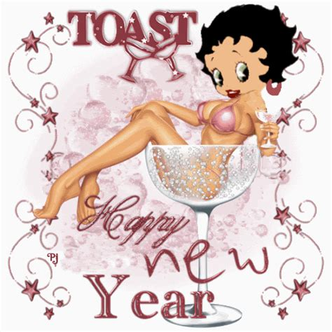 Betty Boop Toaster Happy New Year Animation Click To Play Halloween