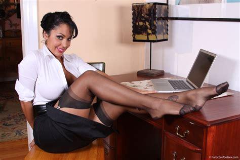 nina mercedez couch hardcore foot sex nina mercedez stockinged foot secretary
