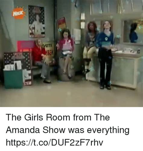 the room funniest the room from the amanda show was everything httpstcoduf2zf7rhv meme on sizzle