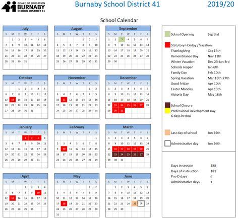 district school year calendar somerville public schools