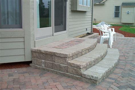 building patio paver stairs brick pavers canton plymouth northville arbor patio patios repair sealing