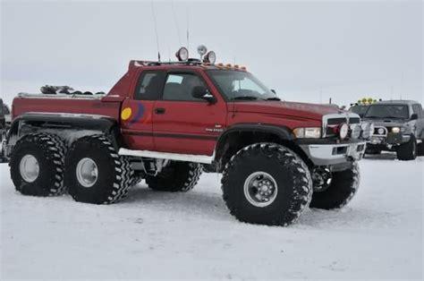 dodge 6x6 truck 6x6 in iceland dodgeforum