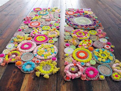 How To Make Handmade Carpets - 20 diy rugs to brighten up your space brit co