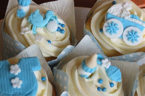 Boy Baby Shower Cup Cakes by Baby Shower Cupcakes For A Baby Boy Baby Boy Cupcakes