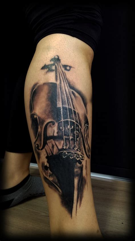 tattooed heart violin 1000 images about music tattoos on pinterest studios