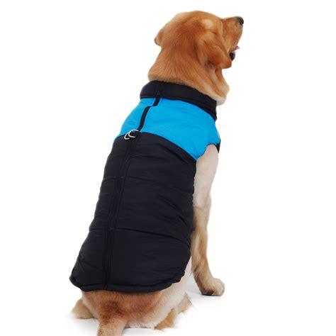 large coats pet cat clothes large coat winter warm coat jacket vest apparels in us ebay