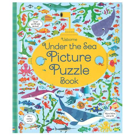 picture puzzle books the sea picture puzzle book timberdoodle co