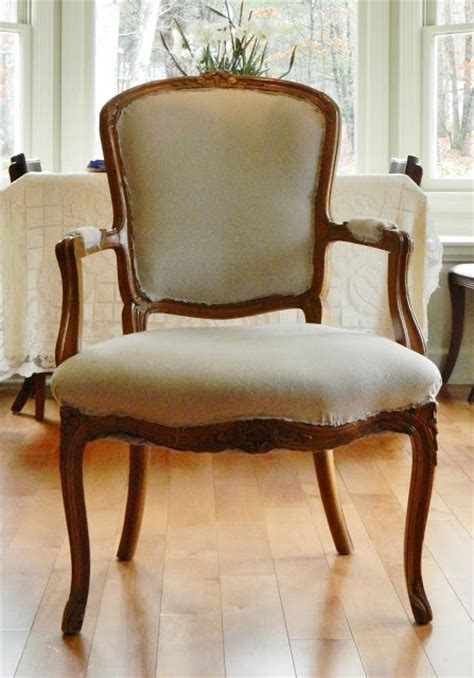 drop cloth upholstery hometalk recovered chair using drop cloth fabric